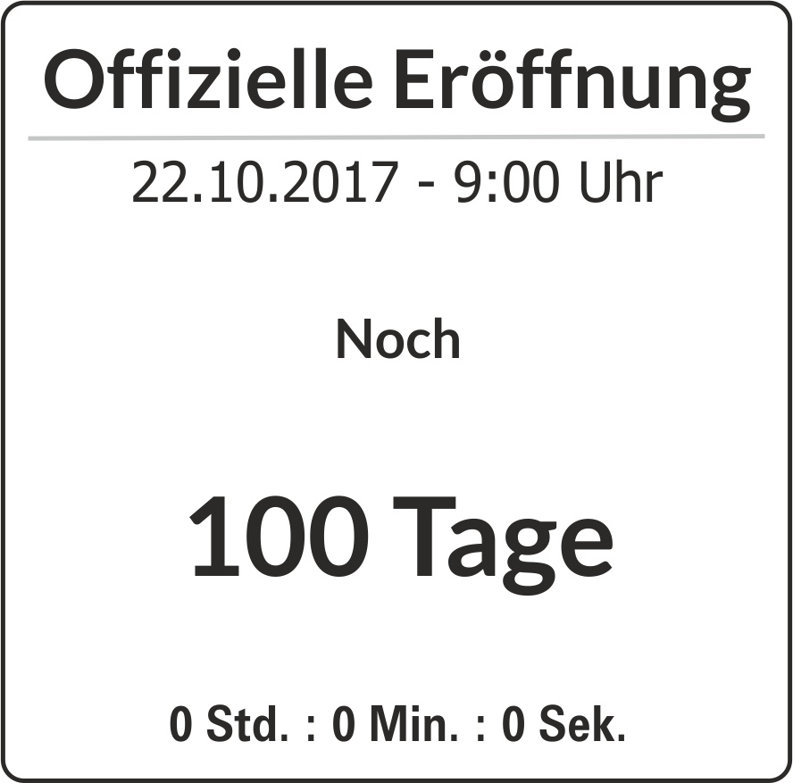 100 Tage Counter
