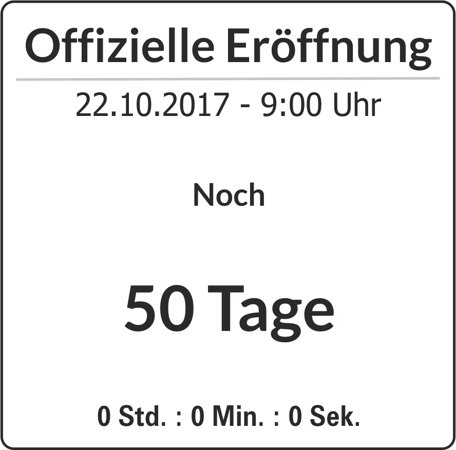 50 Tage Counter
